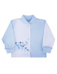 """Кофточка голубого цвета для малышей """"песик"""""""